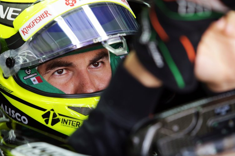 Sergio Perez (MEX) Sahara Force India F1 VJM09. Malaysian Grand Prix, Saturday 2nd October 2016. Sepang, Kuala Lumpur, Malaysia. Credit: Sahara Force India