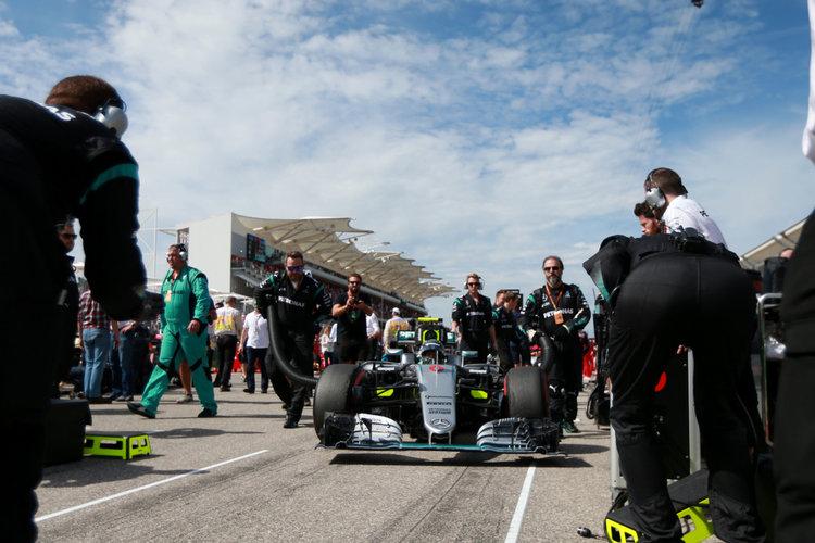 Großer Preis der USA 2016, Sonntag. Credit: Mercedes AMG Petronas Formula One Team