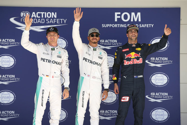 Großer Preis der USA 2016, Samstag. Credit: Mercedes AMG Petronas Formula One Team