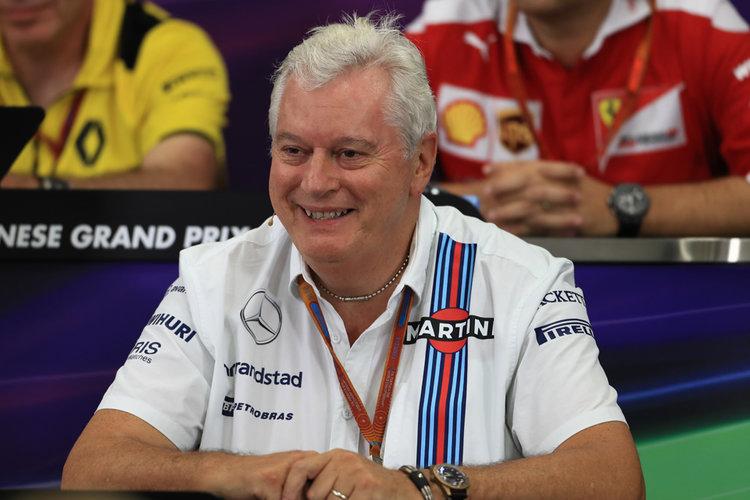 World © Octane Photographic Ltd. F1 Singapore GP FIA Personnel Press Conference, Suzuka Circuit, Suzuka, Japan. Friday 7th October 2016. Pat Symonds - Technical Officer to the Williams F1 Team. Digital Ref : 1730LB1D6341