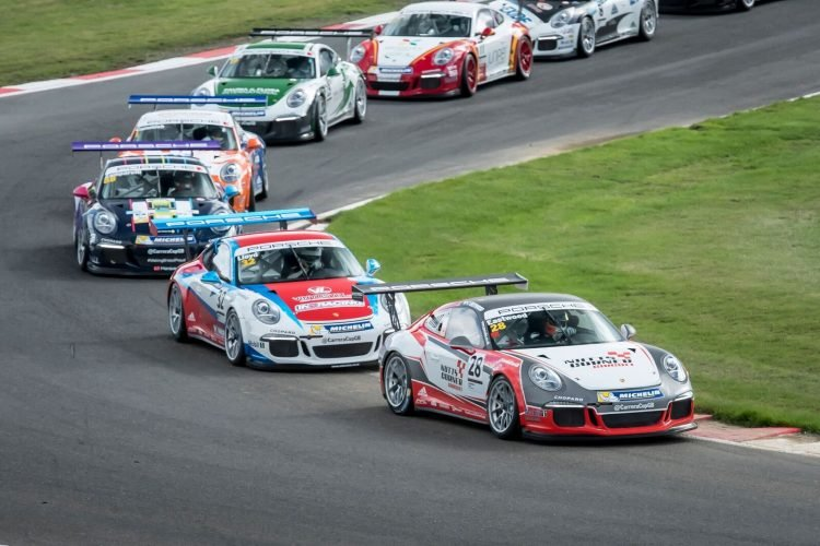 The future looks bright and youthful for Carrera Cup GB. (Credit: James Lipman)