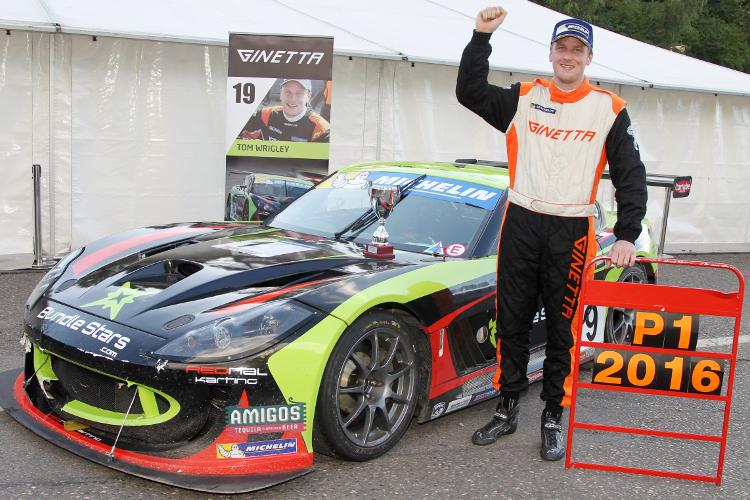 Tom Wrigley – 2016 Michelin Ginetta GT4 Supercup Champion