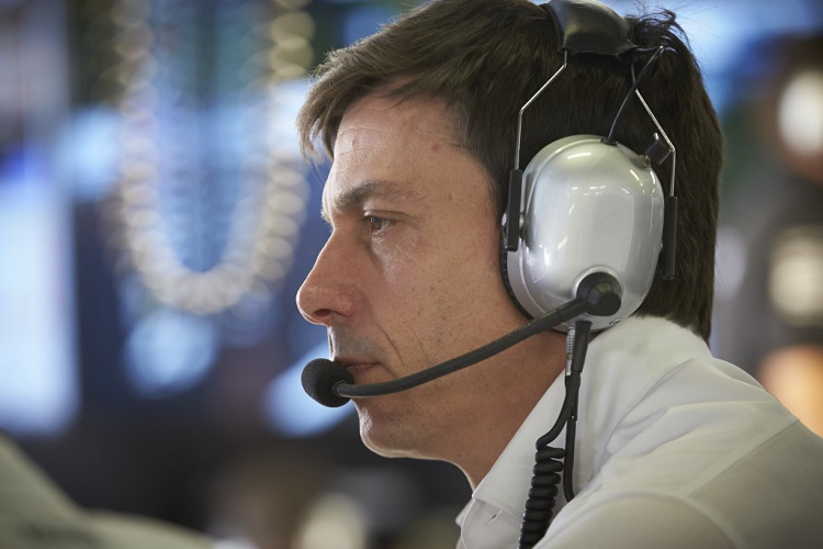 Toto Wolff - Credit: Mercedes AMG PETRONAS Formula One Team