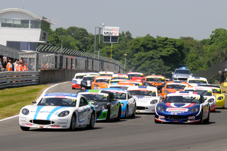 Tregurtha Crucially Leads The Field At Oulton Park - Credit: Jakob Ebrey Photography