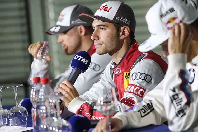 Motorsports: DTM race Hockenheim, Saison 2016 - 9. Event Hockenheimring, GER, #17 Miguel Molina (ESP, Audi Sport Team Abt Sportsline, Audi RS5 DTM)
