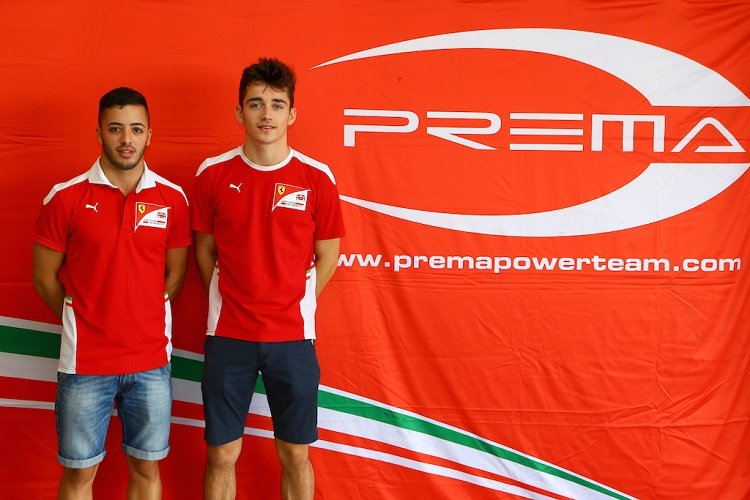 Leclerc And Fuoco To Step Up To Gp2 With Prema In 2017 The Checkered Flag