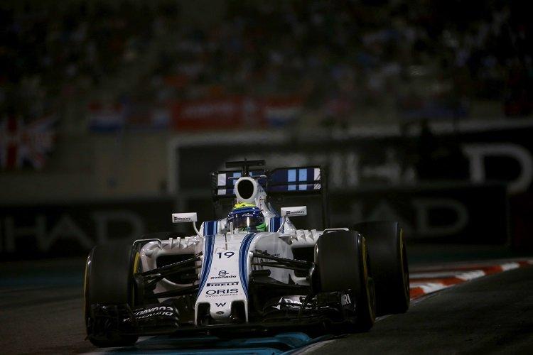 Felipe Massa - Credit: Andrew Hone/Williams