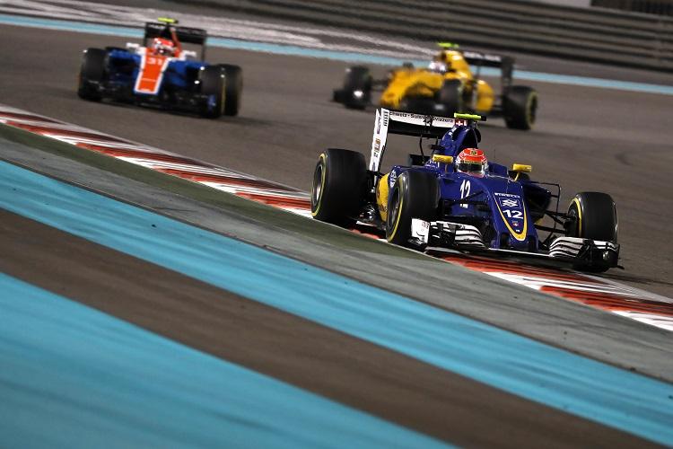 Felipe Nasr - Credit: Sauber Motorsport AG