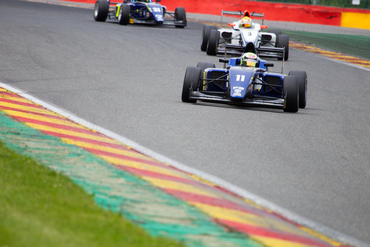 Ricky Collard led the standings for most of the season, though success for his rivals reduced his advantage at Silverstone and Spa.