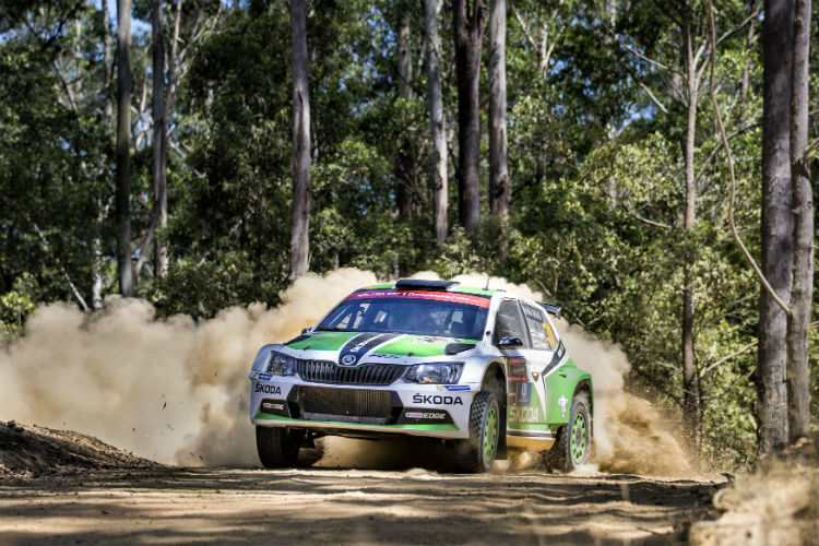 Esapekka Lappi dominated day one of WRC2, putting himself in the perfect position to clinch the WRC2 title.