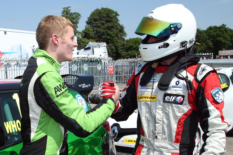 Friends In Battle: Whorton-Eales And Bushell Gave Their All For The Title - Credit: Jakob Ebrey Photography