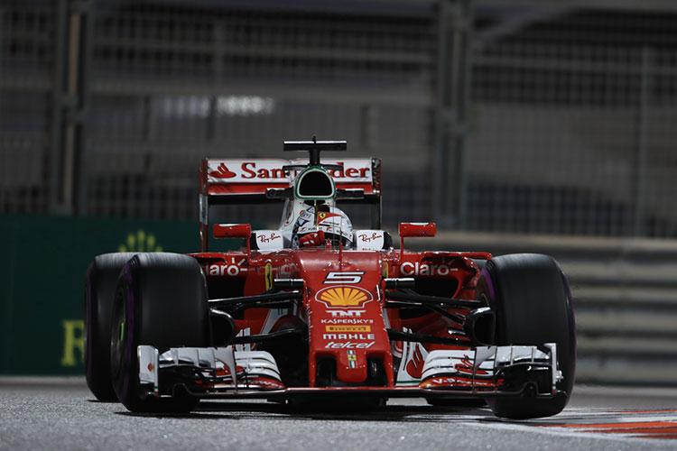 Sebastian Vettel - Scuderia Ferrari - 2016 Abu Dhabi Grand Prix - Credit: Octane Photographic Ltd.