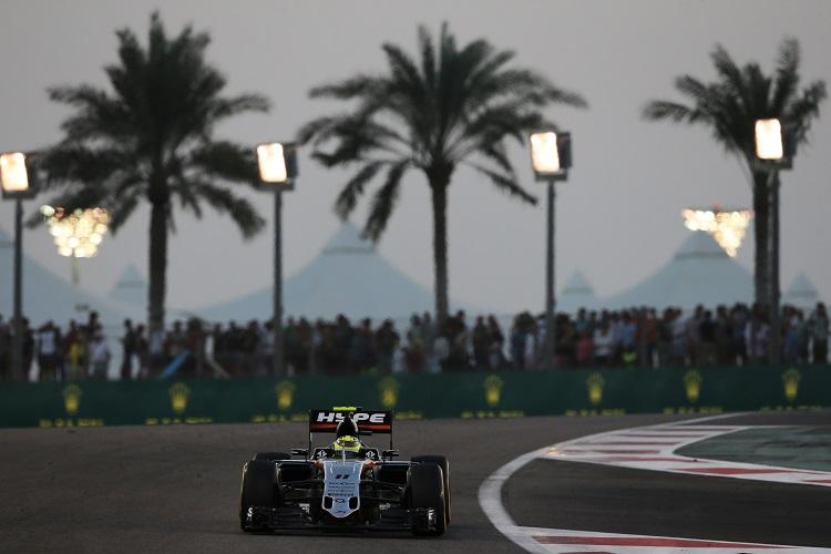 Sergio Perez - Credit: Sahara Force India F1 Team