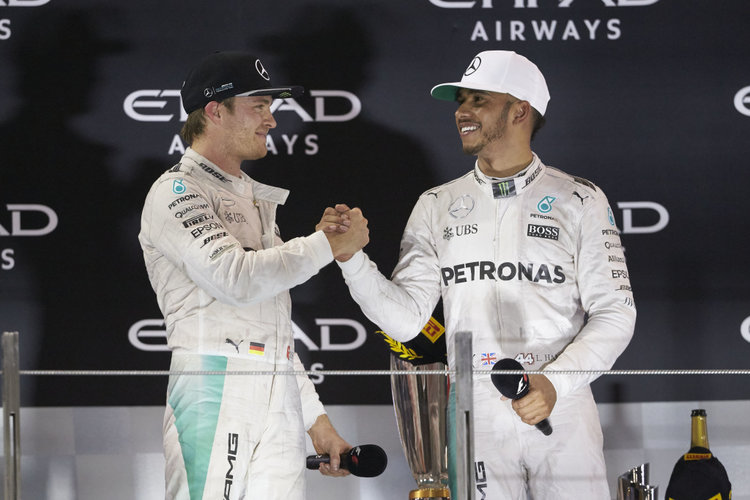 Großer Preis von Abu Dhabi 2016, Sonntag. Credit: Mercedes AMG Petronas Formula One Team