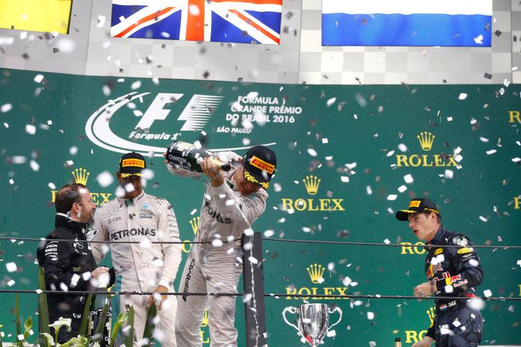 Großer Preis von Brasilien 2016, Sonntag. Credit: Mercedes AMG Petronas Formula One Team