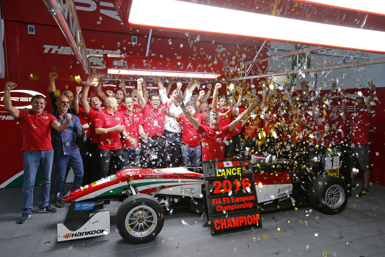 Lance Stroll (CAN, Prema Powerteam. Credit: FIA Formula 3 European Championship / Thomas Suer