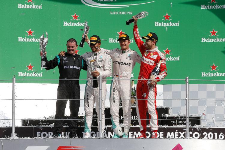 Großer Preis von Mexiko 2016, Sonntag. Credit: Mercedes AMG Petronas Formula One Team