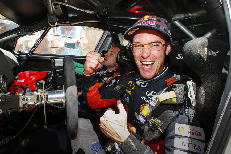 Thierry Neuville will finish the season as runner-up in the title battle. (Credit: Hyundai Motorsport)