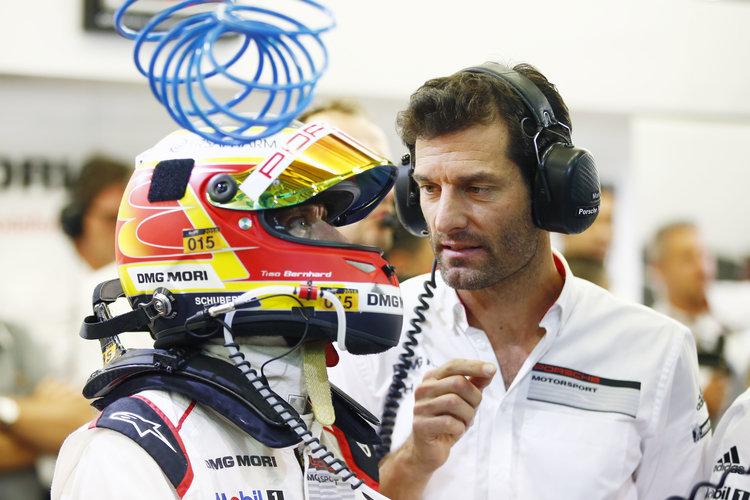 Porsche Team: Timo Bernhard, Mark Webber (l-r)