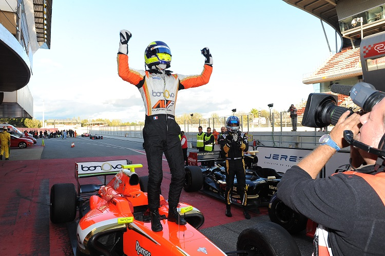 Tom Dillmann took the title with victory in the final race of the season - Credit: Formula V8 3.5
