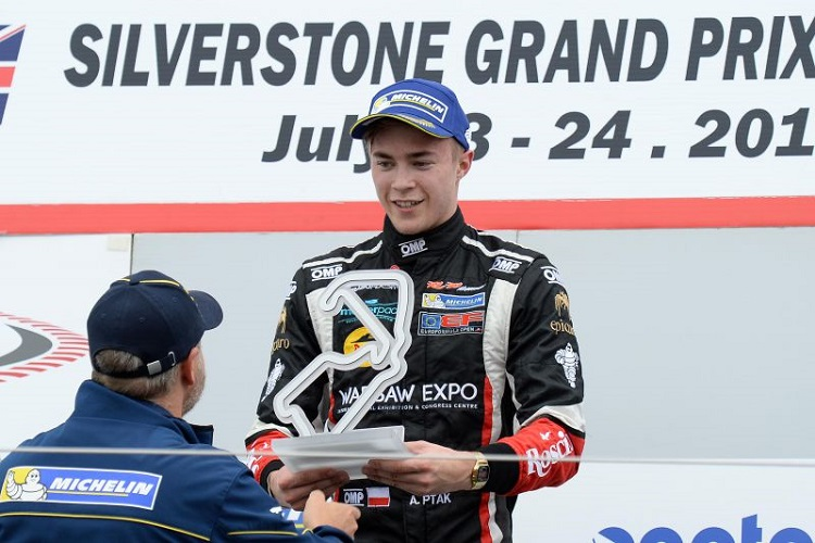 Antoni Ptak took a surprise win at Silverstone - Credit: FOTOSPEEDY