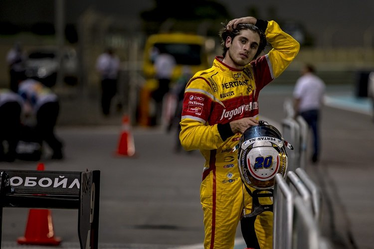 Antonio Giovinazzi - Credit: Zak Mauger/GP2 Series Media Service