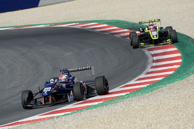 Colton Herta and Ferdinand Habsburg were Pulcini's closest challengers - Credit: FOTOSPEEDY