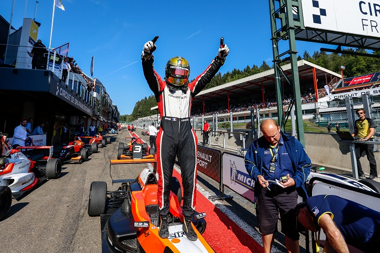 Dorian Boccolacci took race wins in both Eurocup and NEC in 2016 - Credit: Clement Luck / DPPI