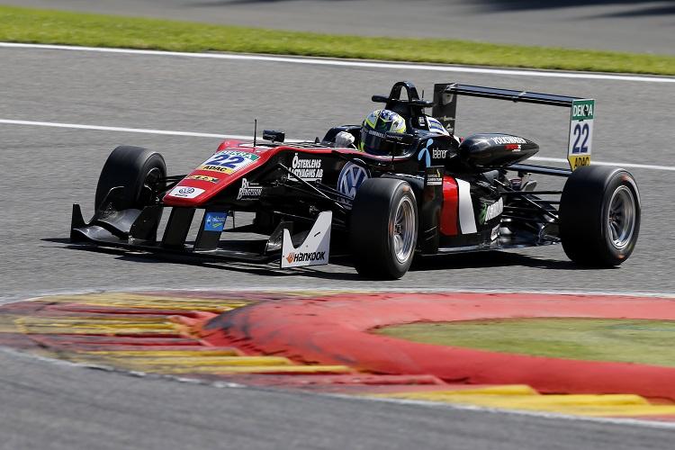 Joel Eriksson was the Rookie Champion of 2016 - Credit: FIA Formula 3 European Championship / Thomas Suer