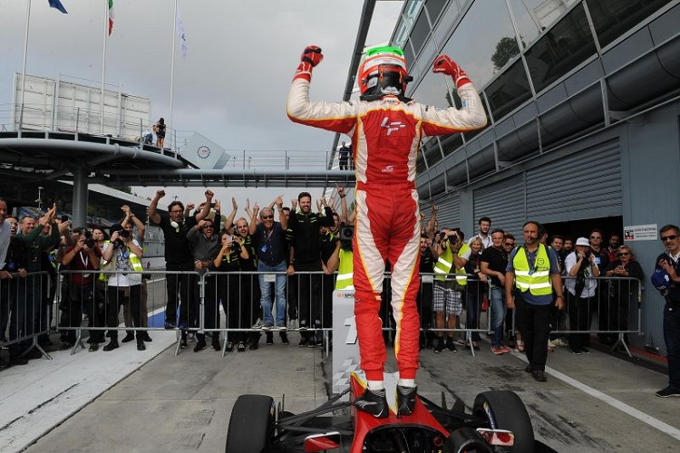 Leonardo Pulcini was a deserving champion - Credit: FOTOSPEEDY