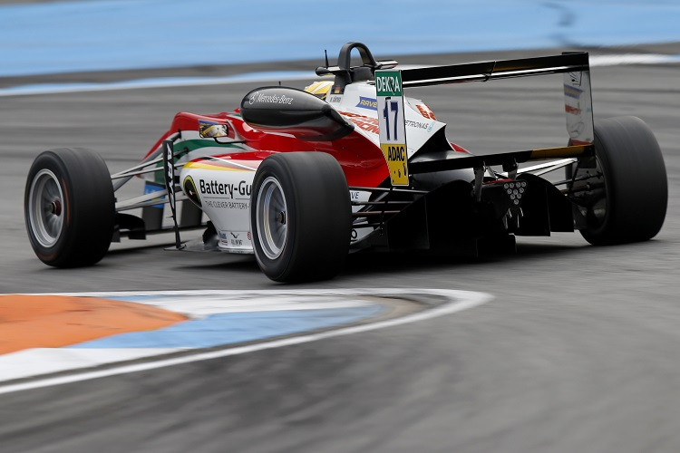 Maximilian Günther did his best to match Stroll but was a distant second in the championship - Credit: FIA Formula 3 European Championship