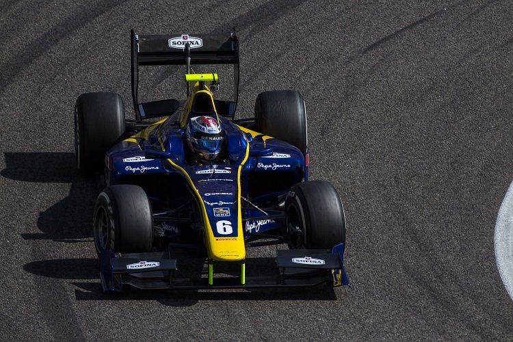 Nicholas Latifi - Credit: Sam Bloxham/GP2 Series Media Service