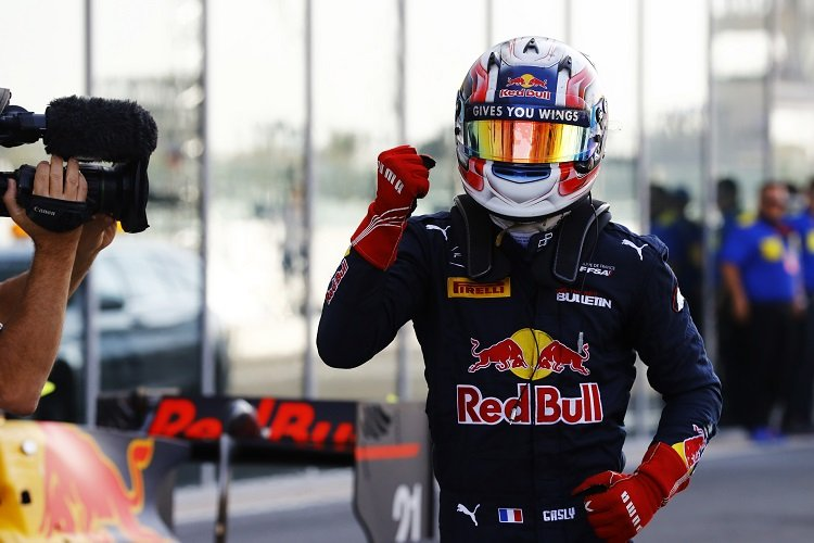 Pierre Gasly - Credit: Steven Tee/LAT Photographic