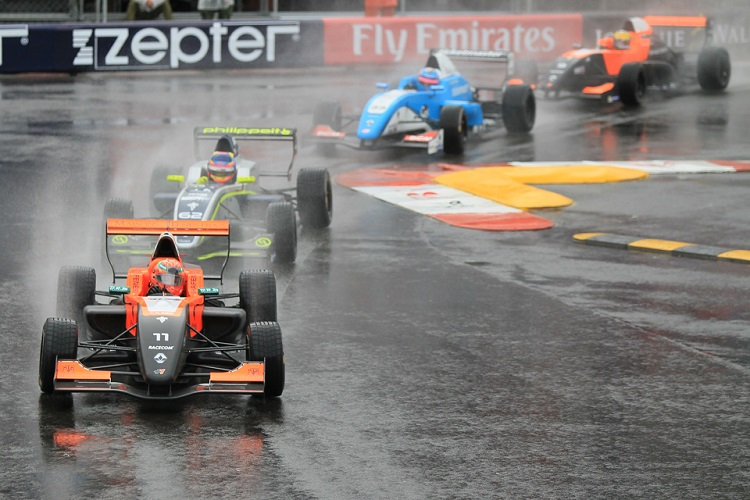 Wet weather greeted Eurocup's debut in Monaco - Credit: Octane Photographic Ltd