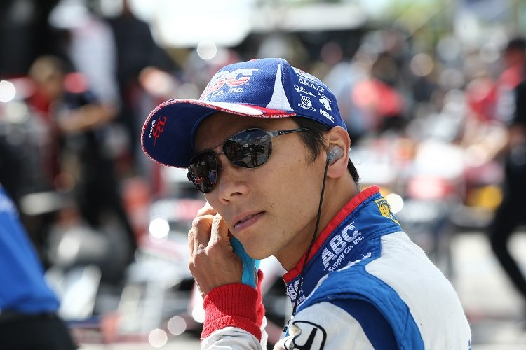 Takuma Sato - Credit: Chris Jones / IndyCar