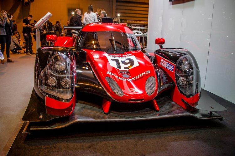 The Speedworks Motorsport Ligier JS P3.