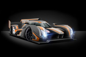 Digital rendering of a Ginetta LMP1 prototype.