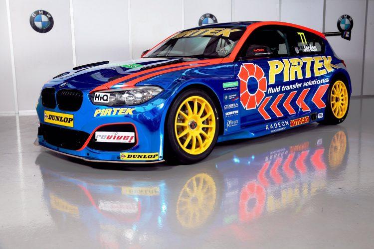WSR Unveil Andrew Jordan's Pirtek Racing Livery For BTCC 2017 - BTCC - The Checkered Flag