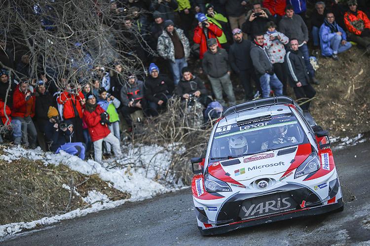Jari-Matti Latvala - 2017 Rallye Monte Carlo - Credit: Toyota