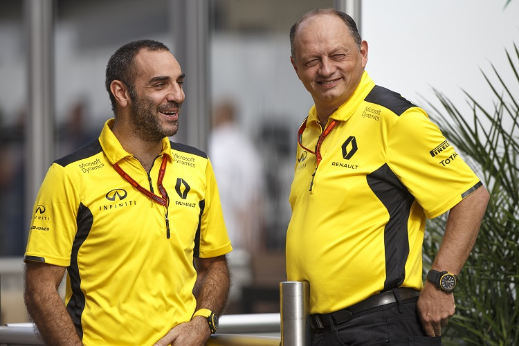 Vasseur leaves role as Renault's team principal in F1
