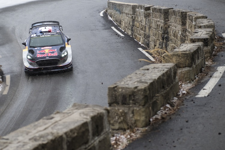 Rallying-Ogier wins Monte Carlo rally on M-Sport debut