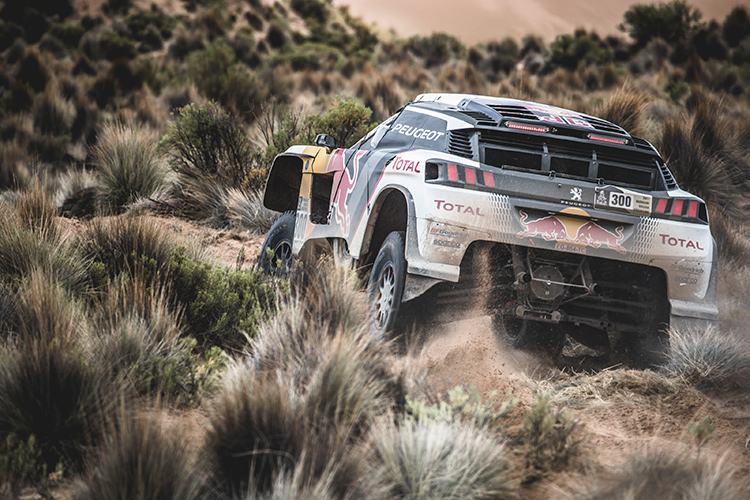 Peterhansel increases Dakar lead after stage seven