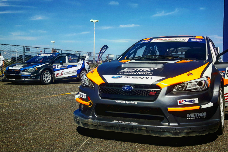 subaru unveil 2017 driver lineup global rallycross the checkered flag. Black Bedroom Furniture Sets. Home Design Ideas