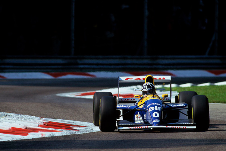 Damon Hill - Williams FW15C - 1993 - Credit: Williams Grand Prix Engineering Limited