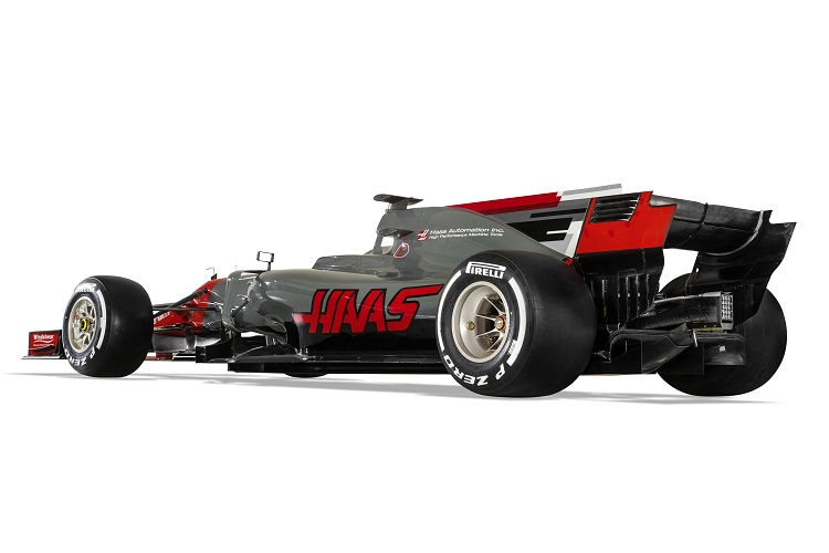 Haas show off their 2017 challenger, the VF-17
