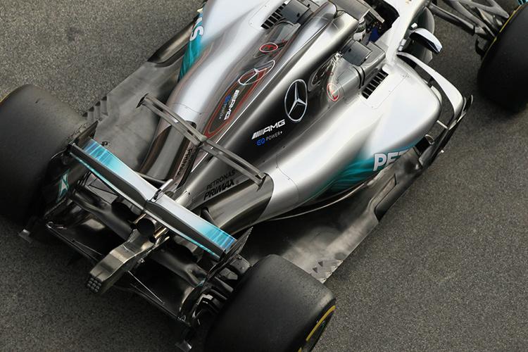 Mercedes suspension - Credit: Octane Photographic Ltd.