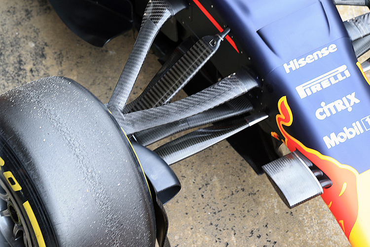 Red Bull Racing suspension - Credit: Octane Photographic Ltd.