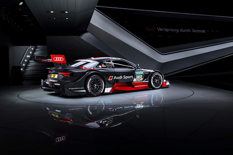 Audi Sport unveil new RS 5 DTM in Geneva - The Checkered Flag