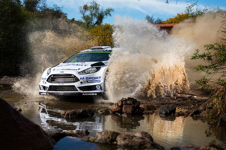 Elfyn Evans tackling Rally Mexico in 2015 - Credit: Jaanus Ree/Red Bull Content Pool