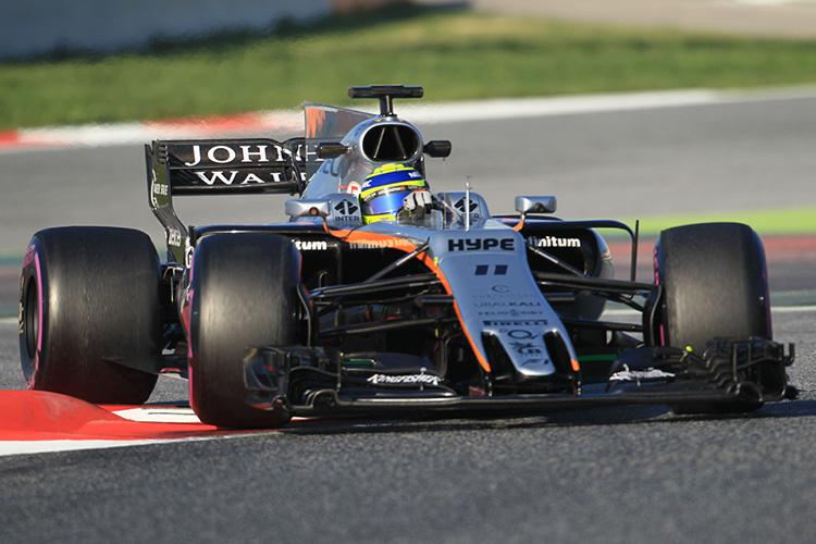 Sergio Perez - Sahara Force India - Credit: Octane Photographic Ltd.